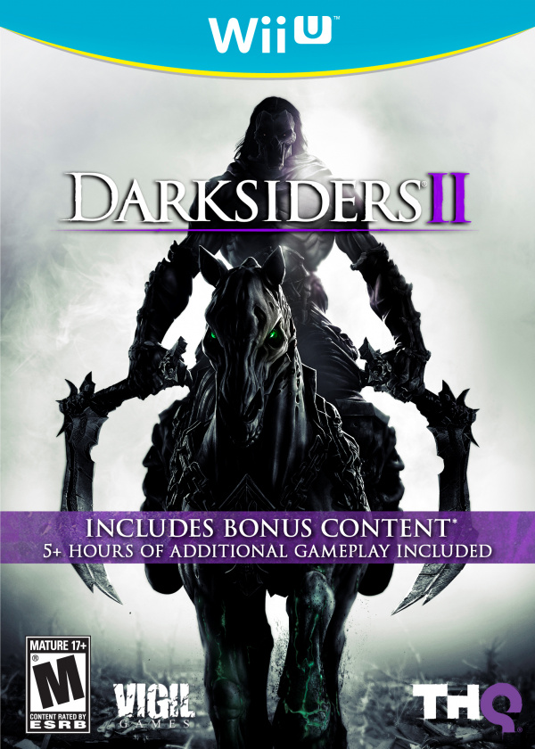 Darksiders II Cover Artwork