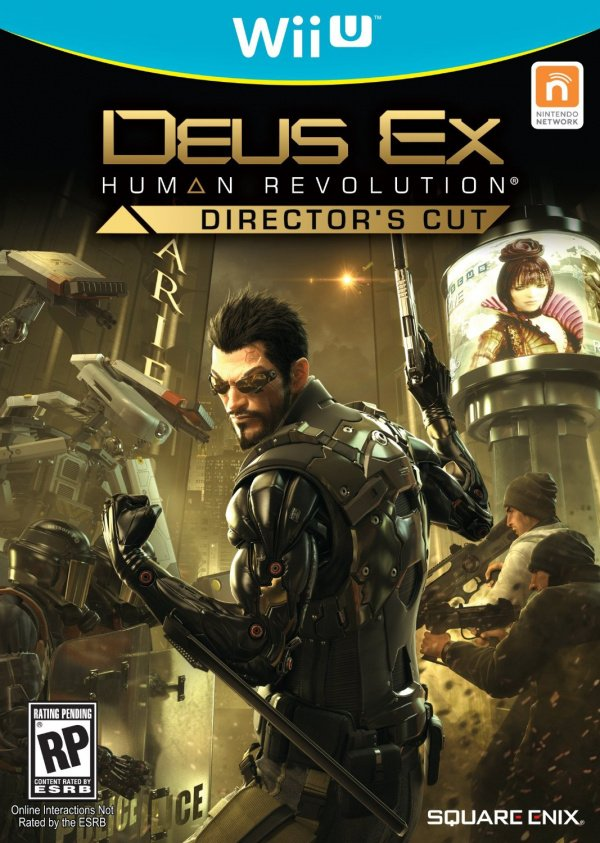 Deus Ex: Human Revolution Director's Cut Cover Artwork