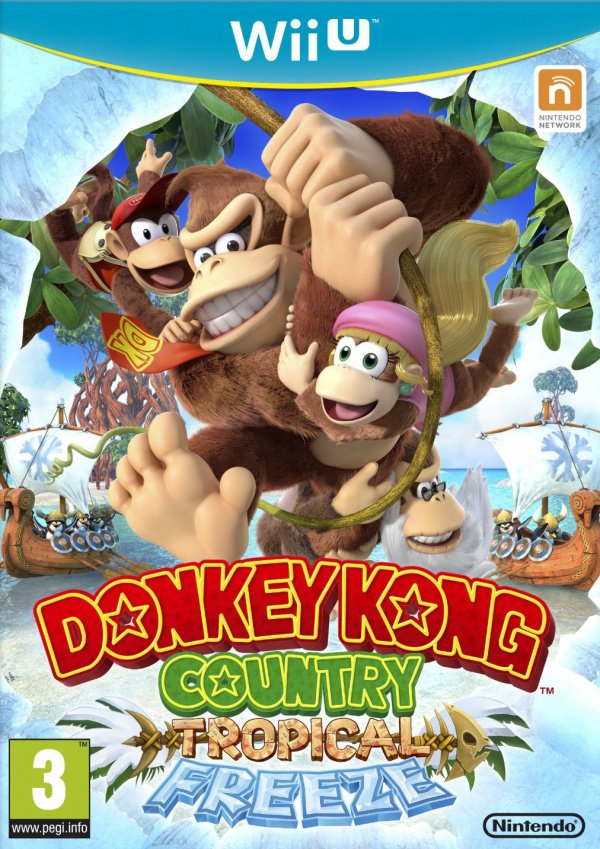 Donkey Kong Country: Tropical Freeze Cover Artwork