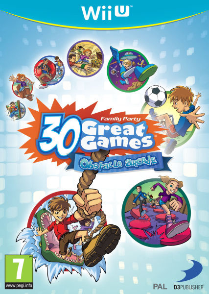 Family Party: 30 Great Games Obstacle Arcade Cover Artwork