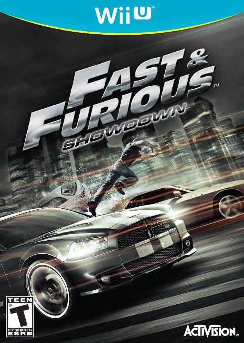Fast & Furious: Showdown Cover Artwork