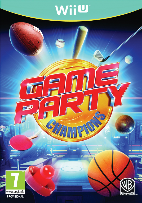 Game Party Champions Cover Artwork