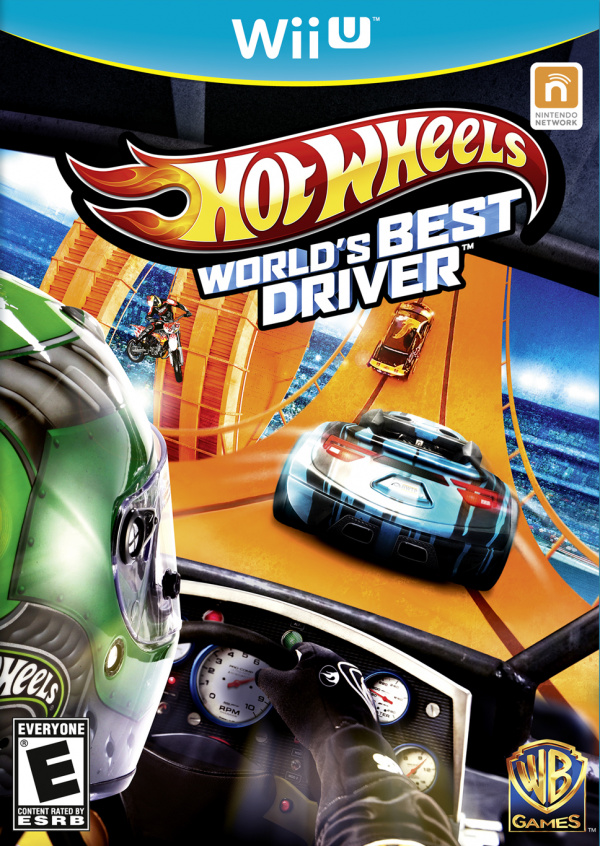 Hot Wheels: World's Best Driver Cover Artwork