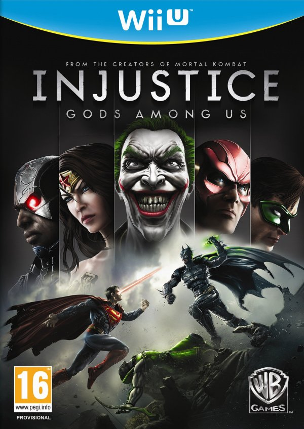 Injustice: Gods Among Us Cover Artwork