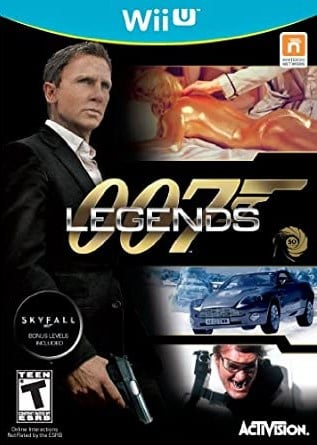 James Bond: 007 Legends Cover Artwork