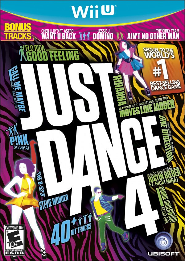 Just Dance 4 Cover Artwork