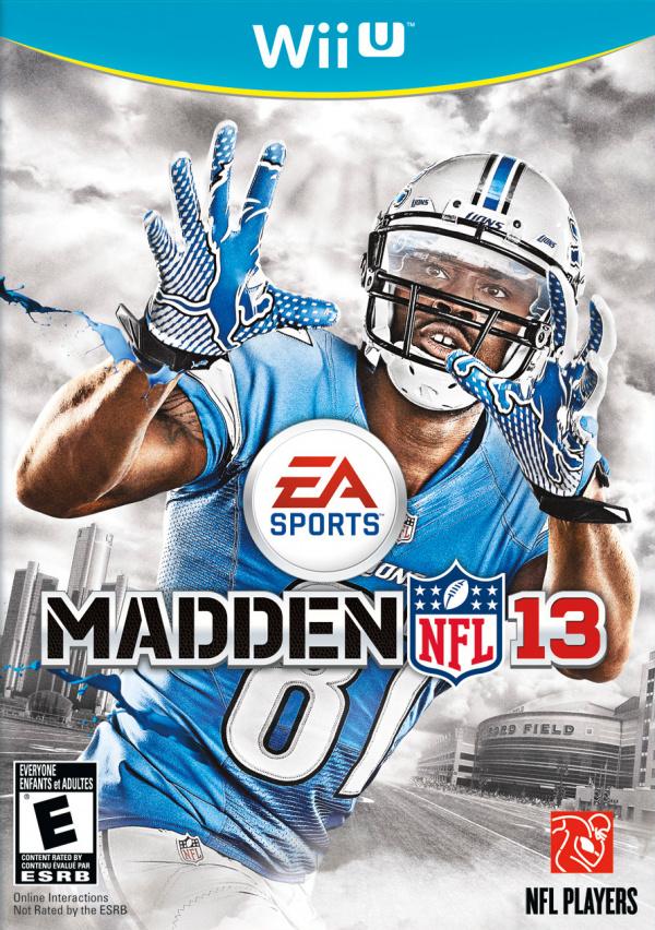 Madden NFL 13 Cover Artwork
