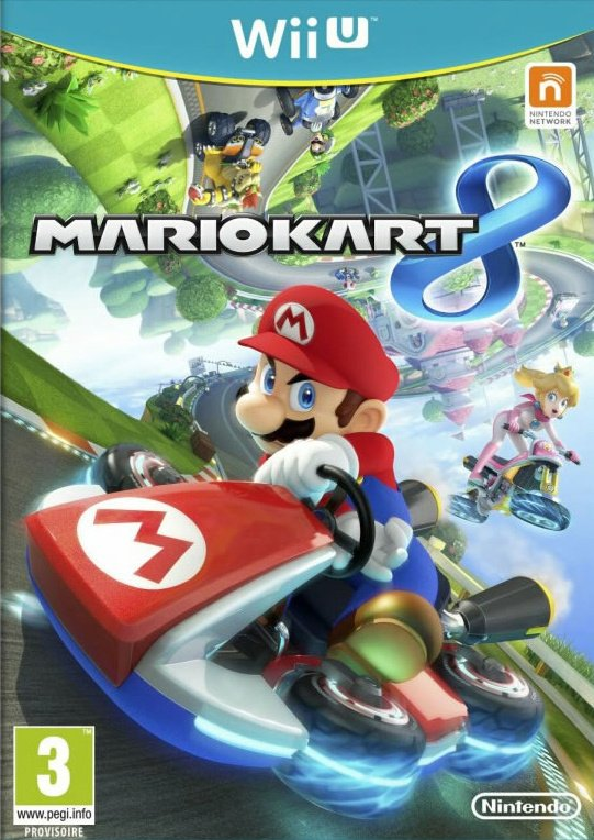 Mario Kart 8 Cover Artwork