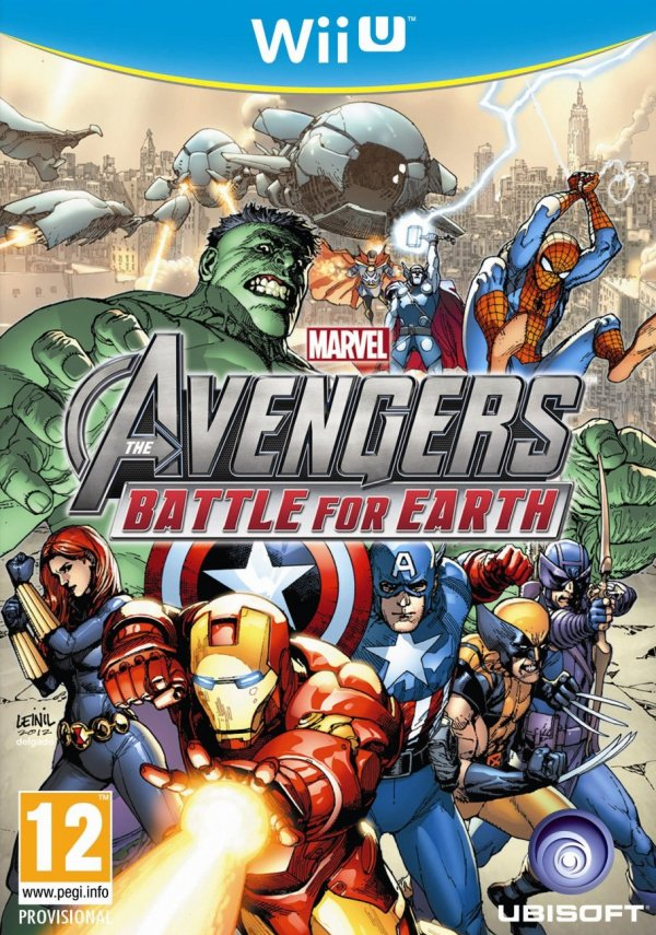 Marvel Avengers: Battle for Earth Cover Artwork