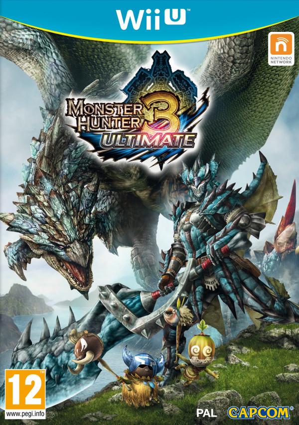 Monster Hunter 3 Ultimate Cover Artwork