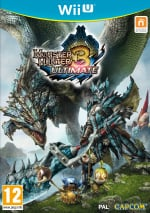 Monster Hunter 3 Ultimate Cover (Click to enlarge)