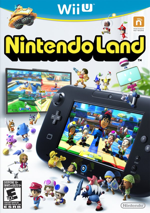 Nintendo Land Cover Artwork