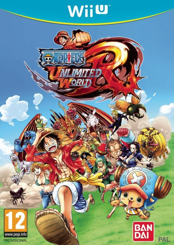 One Piece Unlimited World Red Cover Artwork