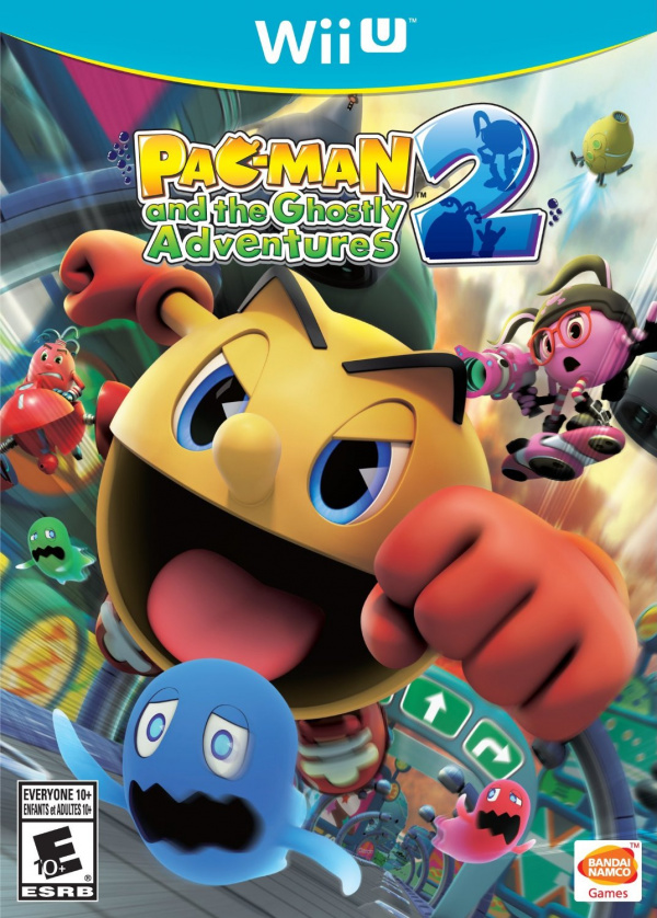 U With Wii Games 2 : Pac man and the ghostly adventures review wii u