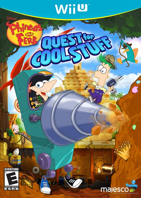 Phineas and Ferb: Quest for Cool Stuff Cover Artwork