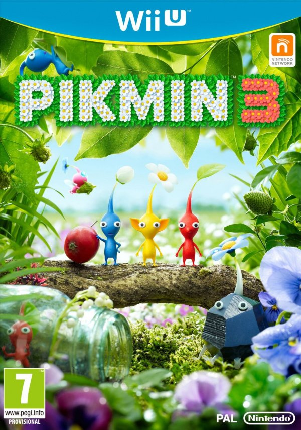 Pikmin 3 Cover Artwork