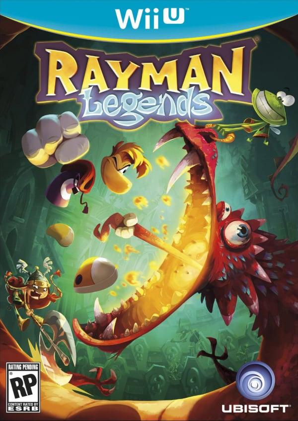 Rayman Legends Cover Artwork