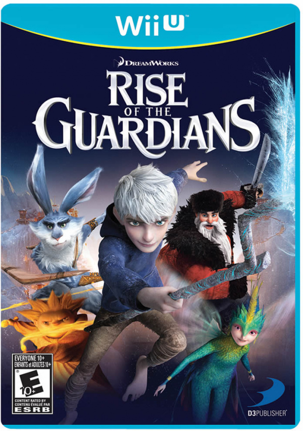 Rise of The Guardians: The Video Game Cover Artwork