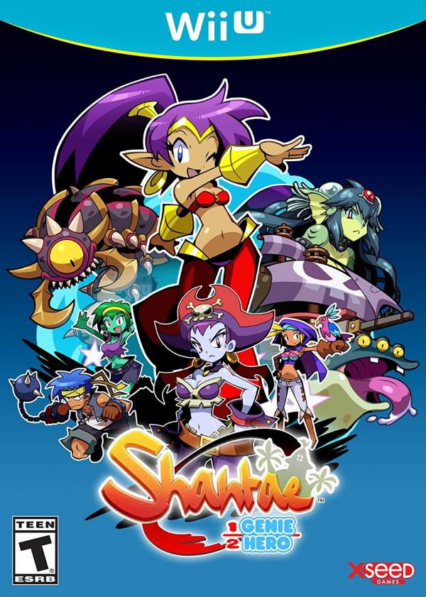 Shantae: Half-Genie Hero Cover Artwork