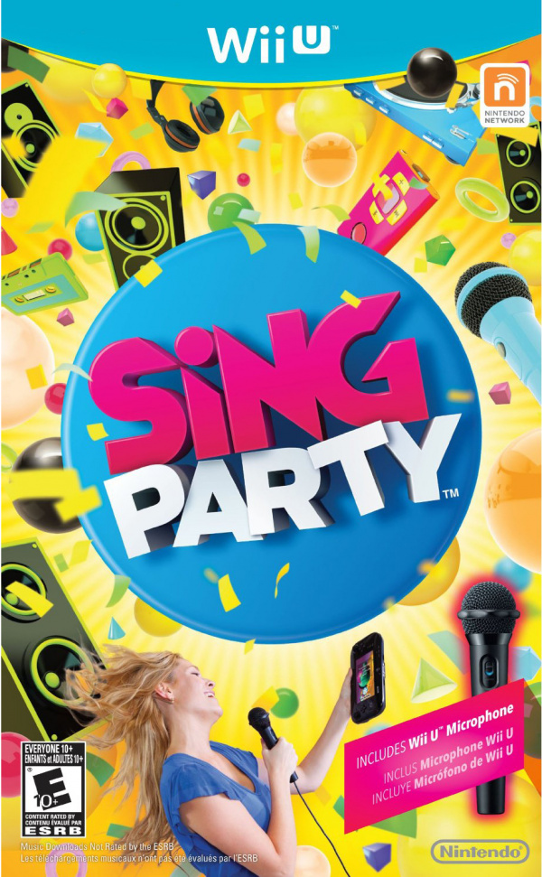 SiNG Party Cover Artwork