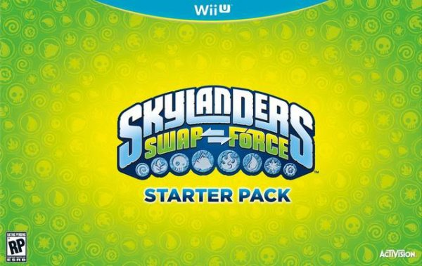Skylanders SWAP Force Cover Artwork