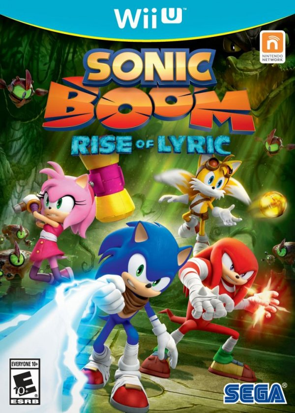 Sonic Boom: Rise of Lyric Cover Artwork