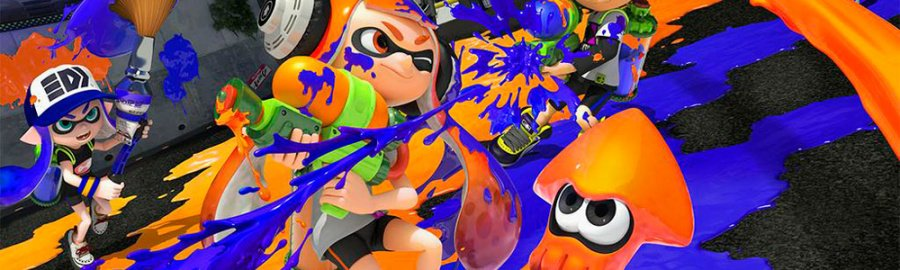 Splatoon - first half of 2015 (NA & EU)