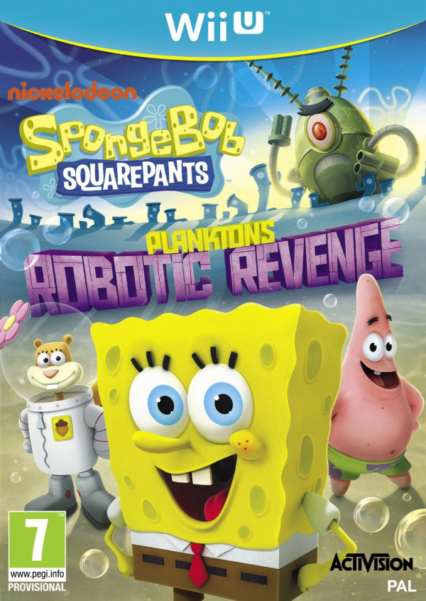 SpongeBob Squarepants: Plankton's Robotic Revenge Cover Artwork