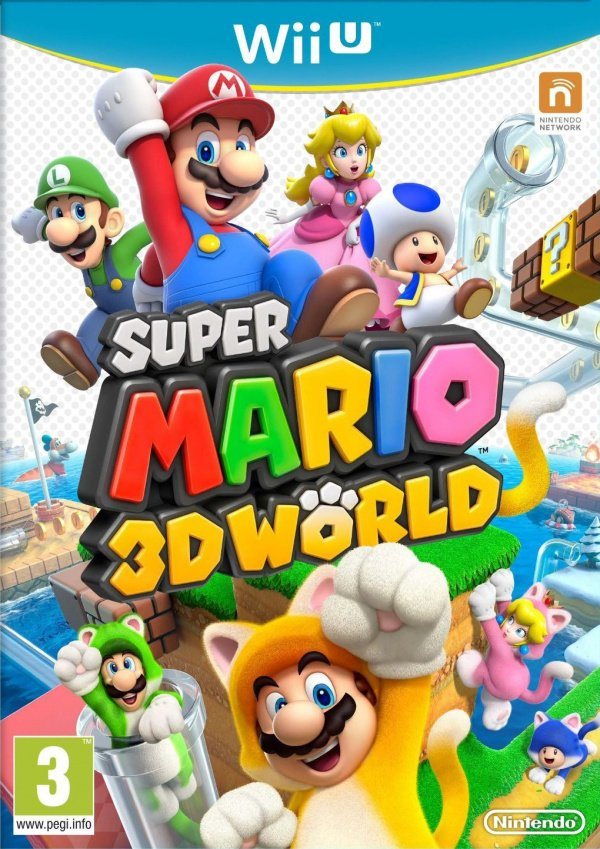Super Mario 3D World Cover Artwork