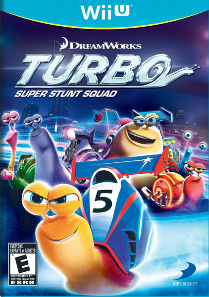 Turbo: Super Stunt Squad Cover Artwork