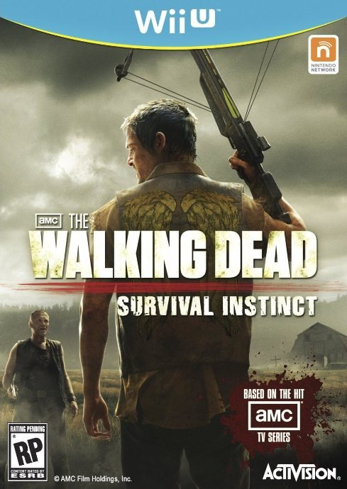The Walking Dead: Survival Instinct Cover Artwork