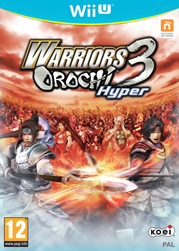 Warriors Orochi 3 Hyper Cover Artwork