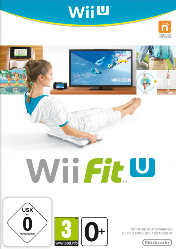 Wii Fit U Cover Artwork