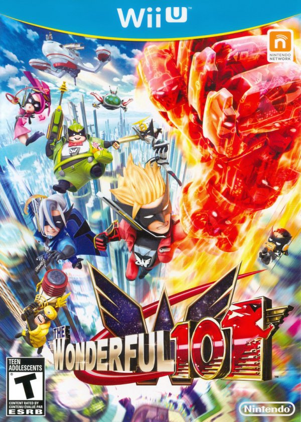 The Wonderful 101 Cover Artwork