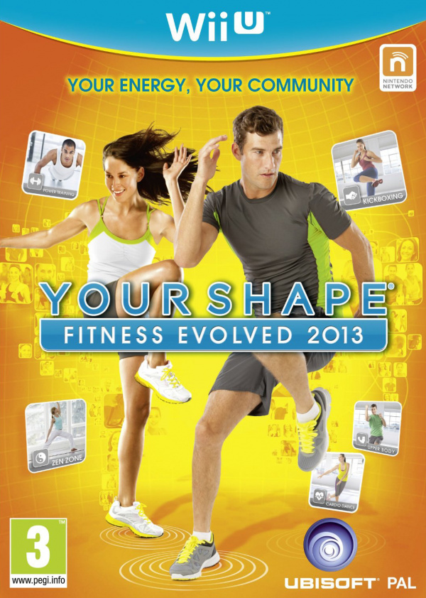 Your Shape Fitness Evolved 2013 Cover Artwork