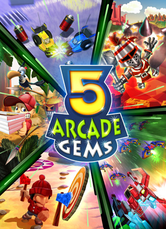5 Arcade Gems Cover Artwork