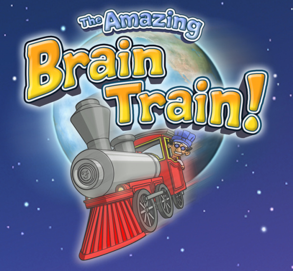 The Amazing Brain Train Cover Artwork
