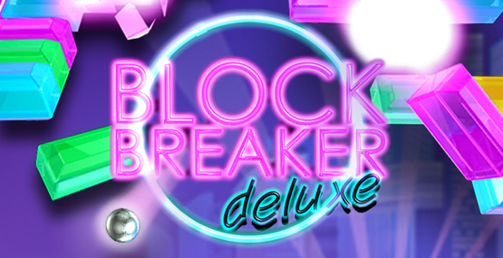 Block Breaker Deluxe Cover Artwork