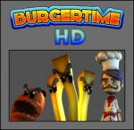 BurgerTime World Tour Cover (Click to enlarge)