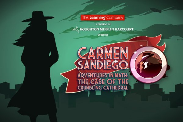 Carmen Sandiego Adventures in Math: The Case of the Crumbling Cathedral Cover Artwork