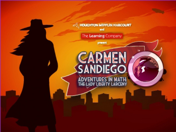Carmen Sandiego Adventures in Math: The Lady Liberty Larceny