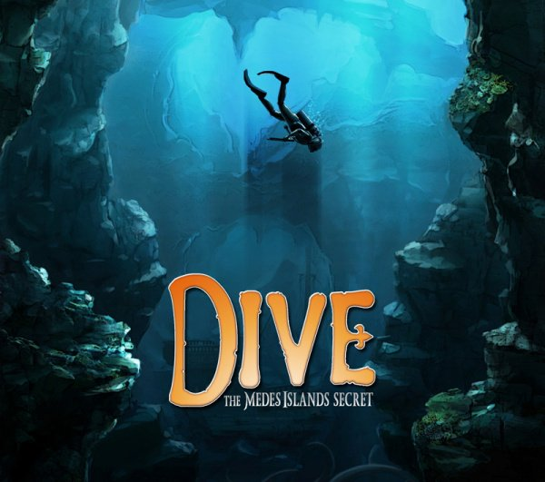 Dive: The Medes Islands Secret Cover Artwork