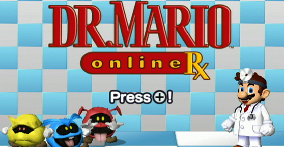 Dr. Mario Online Rx Cover Artwork