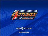 Excitebike: World Rally Cover Artwork