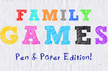 Family Games Cover Artwork