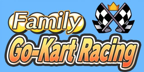 Family Go-Kart Racing Cover Artwork