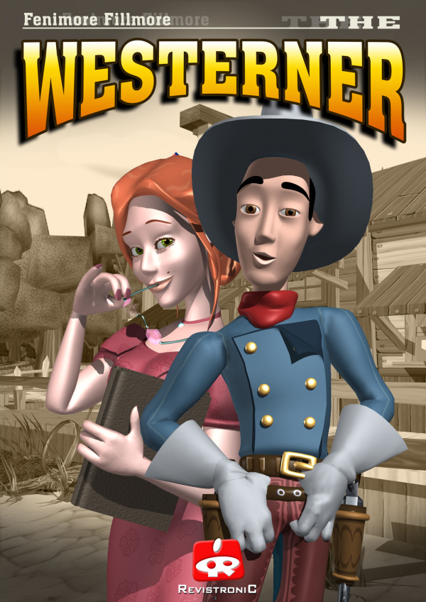 "Fenimore Fillmore ""The Westerner"" Cover Artwork"