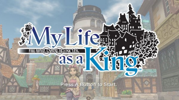 Final Fantasy Crystal Chronicles: My Life as a King Cover Artwork