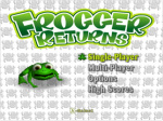 Frogger Returns Cover (Click to enlarge)