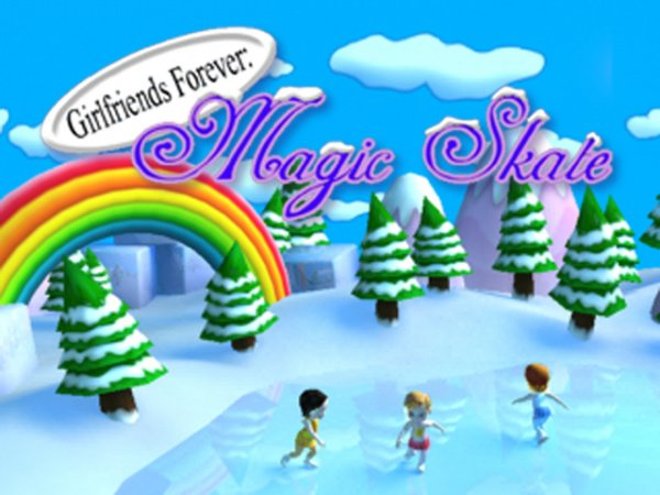 Girlfriends Forever: Magic Skate Cover Artwork
